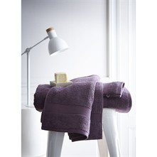 Figue - Serviette de toilette 600 g/m² - violet