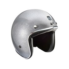 Custom - Casque jet - gris
