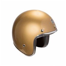 Custom - Casque jet - or