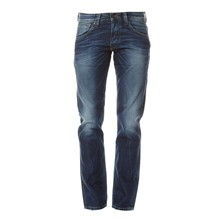 Heston - Jean regular - denim bleu