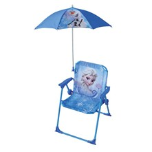Frozen - Chaise et parasol - multicolore