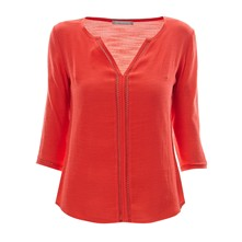 Top/tee-shirt - corail