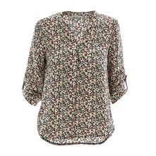 Blouse/tunique/chemisier - multicolore