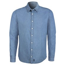 Innovation denim light - Chemise en jean - denim bleu