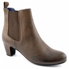 Vanity - Bottines en cuir - marron