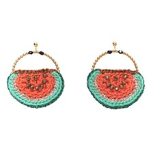 Carmen - Boucles d'oreilles - orange