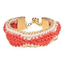 Palm Springs - Bracelet manchette - orange