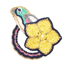 Chickadee - Broche - jaune