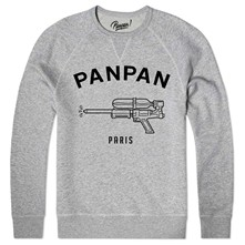 water pistol - Sweat shirt coton bio - gris chine