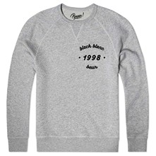 black blanc beur 1998 - Sweat shirt coton bio - gris chine
