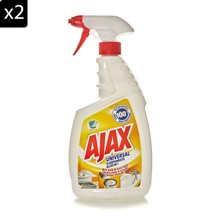 Lot de 2 Ajax nettoyant multi surfaces - 750 ml