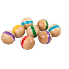 Set de boules de croquet - multicolore