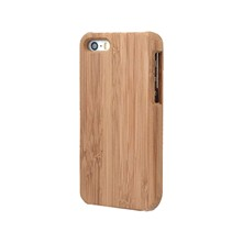 Coque clipée bois de bamboo - iPhone 4s - High Tech - beige