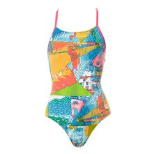 Collage - Maillot de bain 1 pièce - multicolore