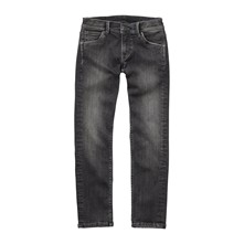 Cashed - Jean droit - denim noir