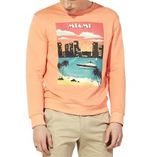Sweat polaire - corail