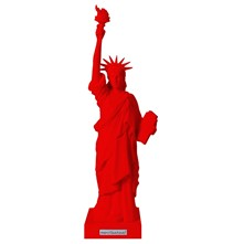 Miss Liberty Toro - Statue - rouge