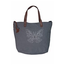 Pack Butterfly - Sac à main - gris