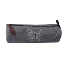 Pack Butterfly - Trousse ronde - gris