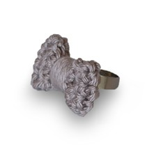 Couchant - Bague - gris