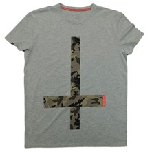 Cross - T-shirt - gris