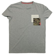 Pocket - T-shirt - gris