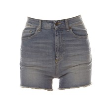 Short - denim bleu