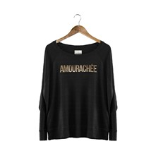 Amourachée - Sweat-shirt - noir