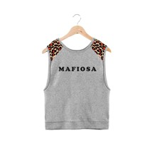 Mafiosa - Sweat-shirt - gris chine