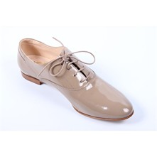 Derbies en cuir - beige
