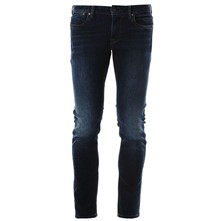 Hatch - Jean droit - denim bleu