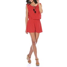 Kyra - Combi-short - rouge