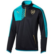 Jr Afc 1/4 - Sweat-shirt - turquoise