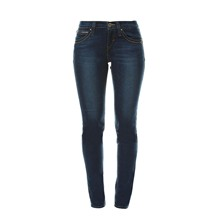 Low rise skinny - Jean skinny - denim bleu