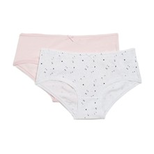 Lot de 2 shortys - rose