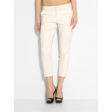 Pantalon coupe cigarette - ecru