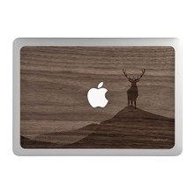 Retina 15 - Coque pour MacBook Pro - marron