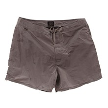 Short de bain mi-long taille ajustable par cordon - gris