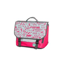 Star let satchel - Cartable 17L - rose