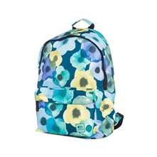 Flower mix dome - Sac à dos 16L - bleu