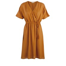 Robe housse - ocre