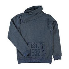 Sweat-shirt - bleu brut