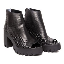 Gabby - Bottines en cuir - noir