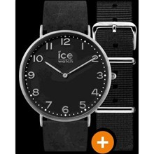 Ice City - Montre bracelet en cuir