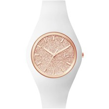 Ice Glitter - Montre analogique - blanc