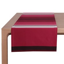 Pampelune - Chemin de table - rouge