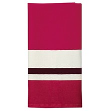 Pampelune - Serviette de table - rouge