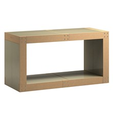 Table basse modulable - olive