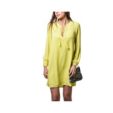 Maely - Robe fluide - jaune