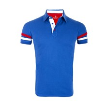 The Racer - Polo - bleu
